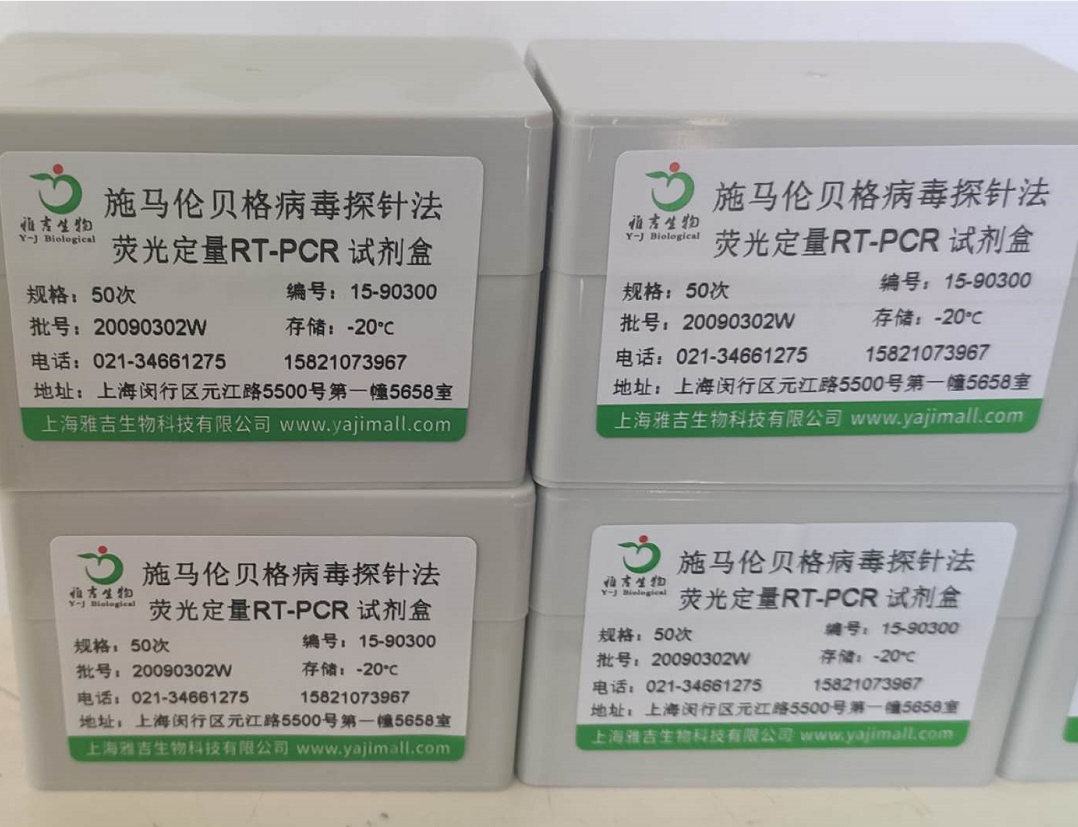 施马伦贝格病毒探针法荧光定量PCR试剂盒